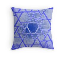 Abstract Screen Throw Pillow