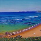 Bar Beach, Newcastle, NSW, Australia by Carole Elliott