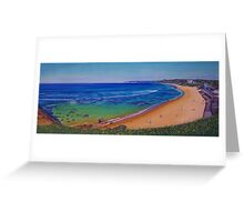 Bar Beach, Newcastle, NSW, Australia Greeting Card