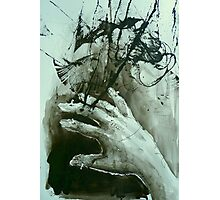 hand clinic series - breaking tension Photographic Print