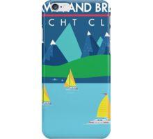 Bread & Brawn Yacht Club Boats Flat Design Class Brawn & Bread Original iPhone Case/Skin