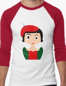 Amelie Men's Baseball ¾ T-Shirt