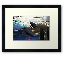 The Sky is Cracking! Framed Print