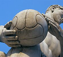 Football Player Statue, Foro Italico, Italy  by Petr Svarc