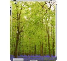 Awesome blubell wood iPad Case/Skin