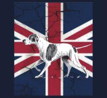 grunge UK fashion Union Jack Flag English pointer by lfang77