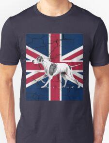 grunge UK fashion Union Jack Flag English pointer T-Shirt