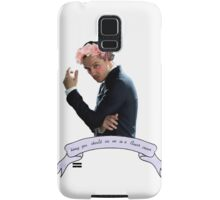 Honey, You Should See Me In A Flower Crown Samsung Galaxy Case/Skin