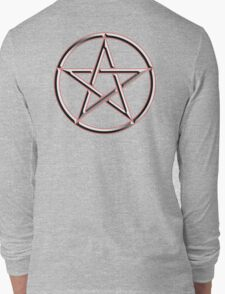 WICCA, Witch, Wizard, Pentacle, modern Pagan, Witchcraft, religion. Long Sleeve T-Shirt