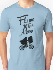 ET - Fly me to the moon T-Shirt