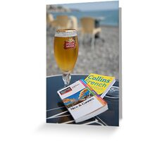 The Tourist: French Riviera Greeting Card