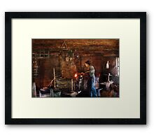 Cooking with the Smith's  Framed Print