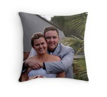 Y&M 18 Throw Pillow