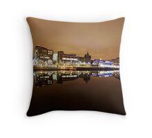 Glasgow Reflections Throw Pillow