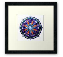 Mandala : Mystery Moon  Framed Print