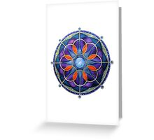 Mandala : Mystery Moon  Greeting Card