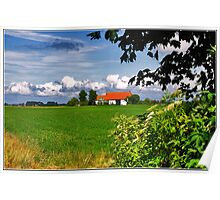 Dutch Landscape Poster