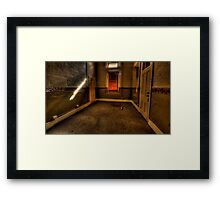 The Red Venetian - Tarban Creek Lunatic Asylum Framed Print