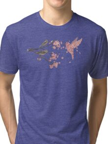 Blossom Bird  Tri-blend T-Shirt
