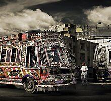 (catching) The Bus #0301 by Michiel de Lange