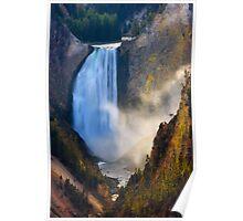 Lower Falls, Grand Canyon of Yellowstone. Yellowstone National Park. Wyoming. USA. Poster