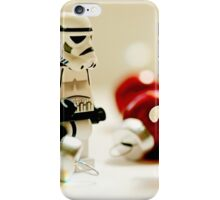 Santa's little troopers iPhone Case/Skin