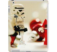 Santa's little troopers iPad Case/Skin