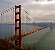 golden gate bridge by Erwin G. Kotzab