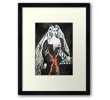 Agnès Sorel Supports Breast Cancer Research Framed Print