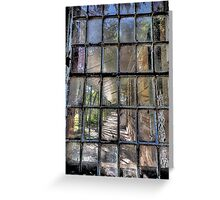 Fractured - Gladesville Asylum - The HDR Experience Greeting Card