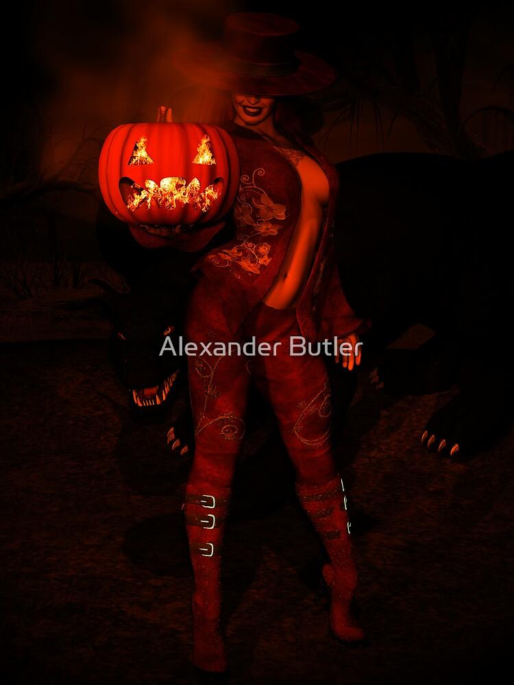 Happy Halloween by Alexander Butler