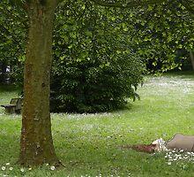 Spring soft green by KERES Jasminka