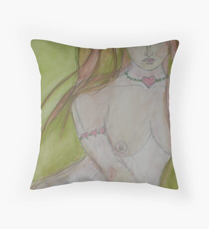Reflecting on Love Throw Pillow