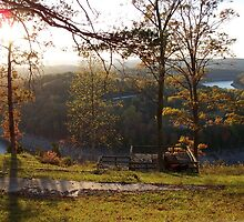 Fall on the Cumberland by Christie  Moses