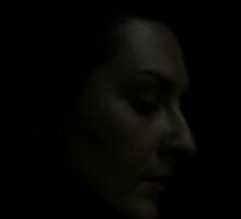 In the darkness by Monjii