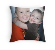 Cousins and Buddies Throw Pillow