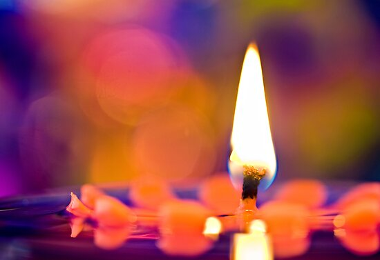 CANDLES & COLORS  by bnilesh