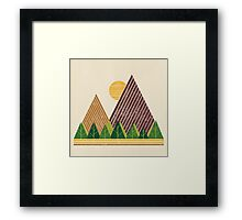 Simple Landscape (light version) Framed Print