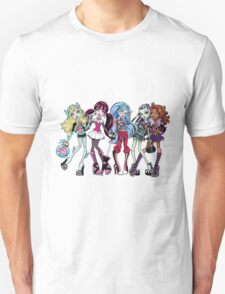 Monster High - group Unisex T-Shirt
