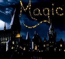 Magical Hogwarts by brokennightmare