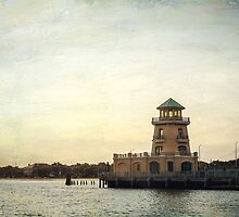 Beau Rivage Lighthouse along the Biloxi Beach by Jonicool
