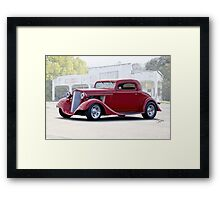 1934 Chevrolet Coupe Framed Print