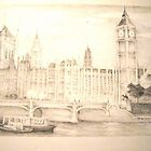 Houses of Parliament by StephMmm