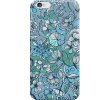 Her Garden in Blue iPhone Case/Skin