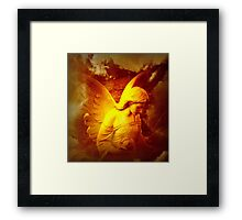 Lifted Up By An Angel Framed Print