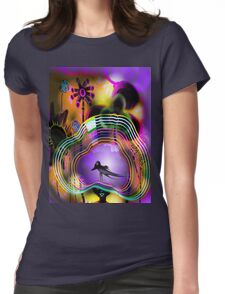 My hat of colors Womens Fitted T-Shirt