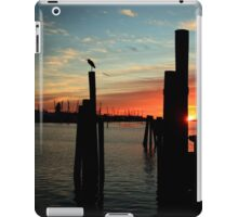 morning silhouettes iPad Case/Skin