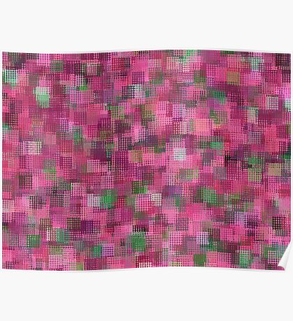Fuchsia Abstract Poster