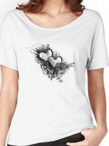 Two hearts Women's Relaxed Fit T-Shirt