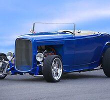 1932 Ford HiBoy Roadster 'Ol Blu' by DaveKoontz